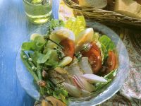 Salad with Vegetables and Chicken recipe