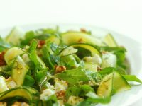 Salad with Zucchini and Cheese recipe
