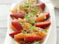 Salmon and Berry Appetiser Platter recipe