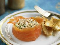 Salmon and Fish Appetiser recipe