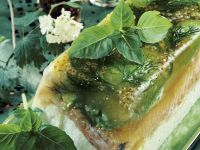 Salmon and Goat Cheese Terrine recipe