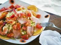Salmon and Prawn Salad recipe