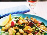 Salmon and Radish Salad recipe