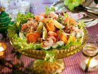 Salmon and Shrimp Tart recipe