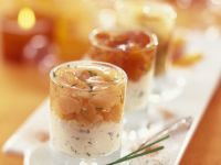 Salmon and Soft Cheese Cups recipe
