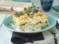 Salmon and Spinach Lasagne recipe