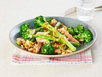 Salmon and Tenderstem Broccoli Salad recipe