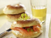 Salmon Breakfast Sandwich recipe