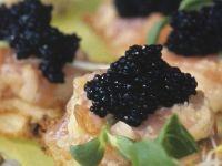 Salmon Canapes recipe