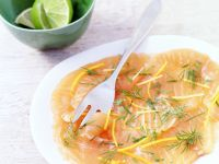 Salmon Carpaccio recipe