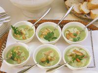 Salmon Pea Soup recipe