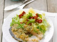 Salmon Steaks with Herb Coating recipe