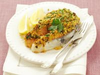 Salmon Steaks with Herb Crust recipe