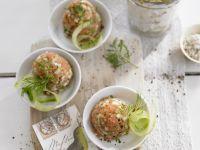 Salmon Tartare with Cucumber recipe