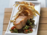 Fish Fillet with Crisp Chips recipe