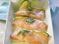 Salmon with Classic Hollandaise recipe