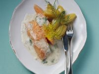 Salmon with Creamy Dill Sauce recipe