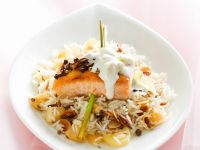 Salmon with Creamy Sauce recipe