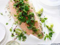 Salmon with Herbs recipe