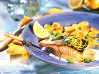 Salmon with Lemon Sauce recipe