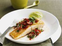 Salmon with Tomato Salsa recipe