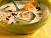 Salsify Soup with Pumpkin Seeds recipe