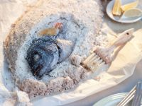 Salt-baked Whole Fish recipe
