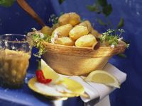 Salt-Crusted Potatoes with Pepper Sauce recipe