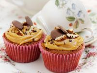 Salted Caramel Pecan Cupcakes recipe