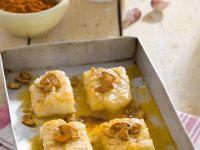 Salted Cod Bake with Garlic recipe