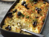 Salted Fish Bake recipe