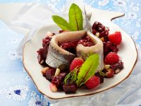Salted Herring with Beet Salad recipe
