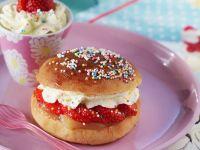 Sandwich Bun Dessert recipe