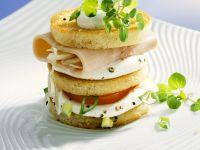 Sandwich Towers recipe