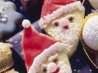 Santa Claus Sugar Cookies recipe