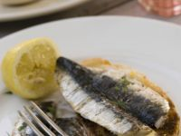 Sardines with Buttered Toast recipe