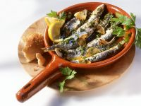 Sardines with Garlic and Parsley recipe