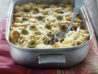 Sauerkraut and Olive Gratin recipe
