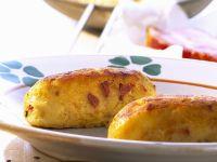 Sauerkraut, Potato and Bacon Pancakes recipe
