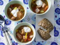 Sauerkraut Soup recipe