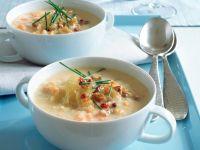 Sauerkraut Soup with Croutons recipe