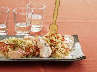 Sauerkraut Stew with Leeks and Horseradish recipe