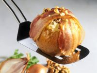 Sauerkraut Stuffed Baked Apples recipe