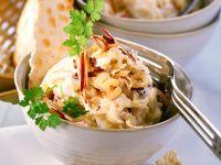 Sauerkraut with Carrot and Fruit recipe