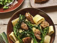 Sausage and Broccoli Rabe Pasta recipe