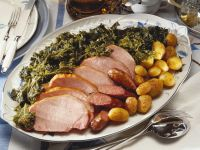 Sausage and Kale with Smoked Pork recipe