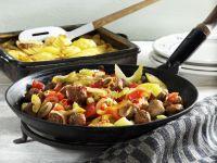Sausage and Potato Gratin recipe