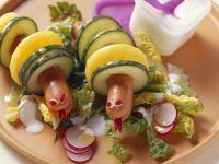 Sausage Animals recipe