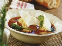 Sausage, Bell Pepper and Pasta Stew recipe
