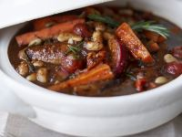 Sausage, Tomato and Bean Stew recipe